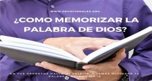 Memorizar La Palabra de Dios