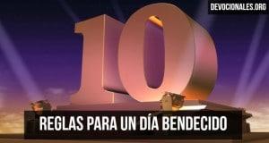 10-reglas-Dia-Bendecido-Cristiano