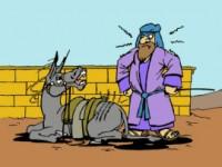 La burra y el profeta Balan