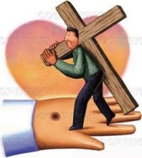 Lleva tu cruz y sigue