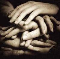 Ayuda apoyo y unidad