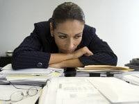 Trabajo stress solitaria