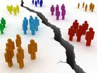 la division en la iglesia