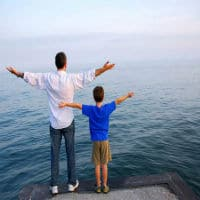 padres y hijos biblia