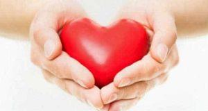 el amor de Dios en las manos