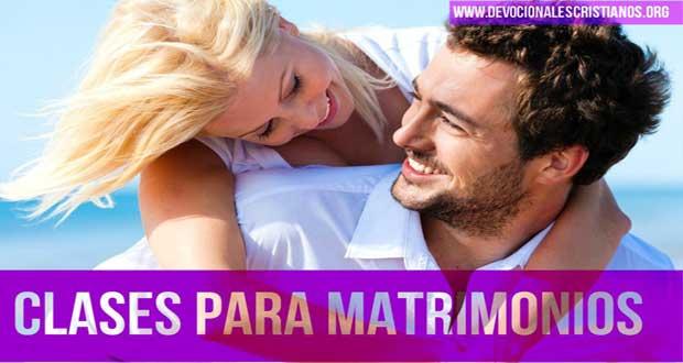 Matrimonios Jovenes Catolicos : Matrimonio cristiano clases bíblicas para matrimonios