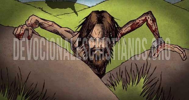 Endemoniado Biblia sepulcros
