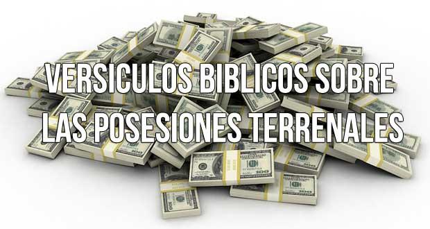 las-posesiones-terrenales-riquezas
