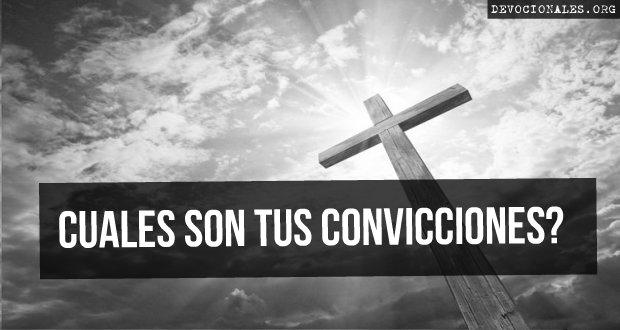 convicciones cristianas biblia