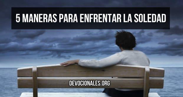 cristianos enfrentar soledad biblia