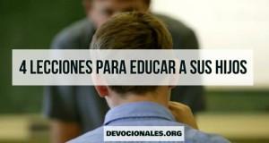 educar hijos biblia