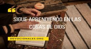 Sigue Aprendiendo En Las Cosas De Dios-3