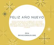 Feliz Año Nuevo - Isaias 43:18-19