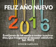 Feliz Año Nuevo Salmos 90:12