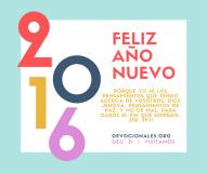 Feliz Año Nuevo Jeremias 29:11