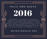 Feliz Año Nuevo Fil. 3:13-14