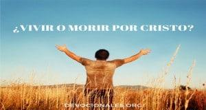 Morir por Cristo Ganancia