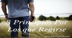 Principios Por Los Que Regirse En La Vida