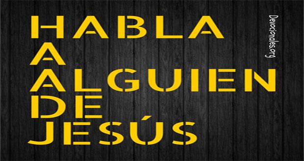 Predicar a Jesús