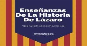 Enseñanzas Sobre Lazaro Y Jesús