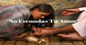 """Y QUEBRANDO EL VASO DE ALABASTRO, SE LO DERRAMÓ SOBRE SU CABEZA"""" (Marcos 14:3)"""