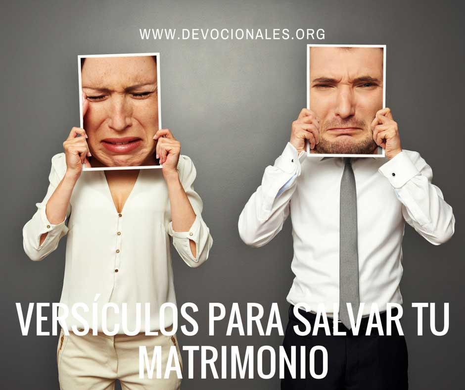 Versículos Para Salvar Tu Matrimonio