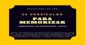 25 Versículos Bíblicos Para Memorizar