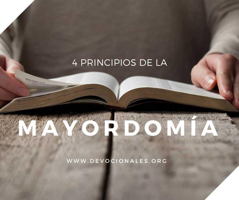 4 Principios Bíblicos Sobre La Mayordomía Cristiana