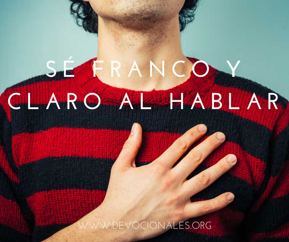 Cristiano Sé Franco Y Claro Al Hablar