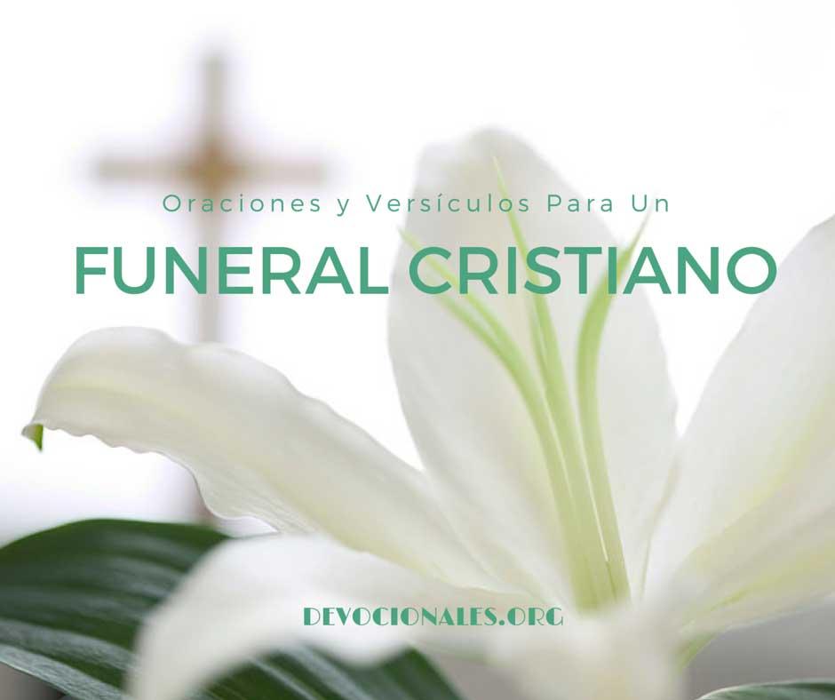 6 Oraciones y Versículos Para Funeral Cristiano