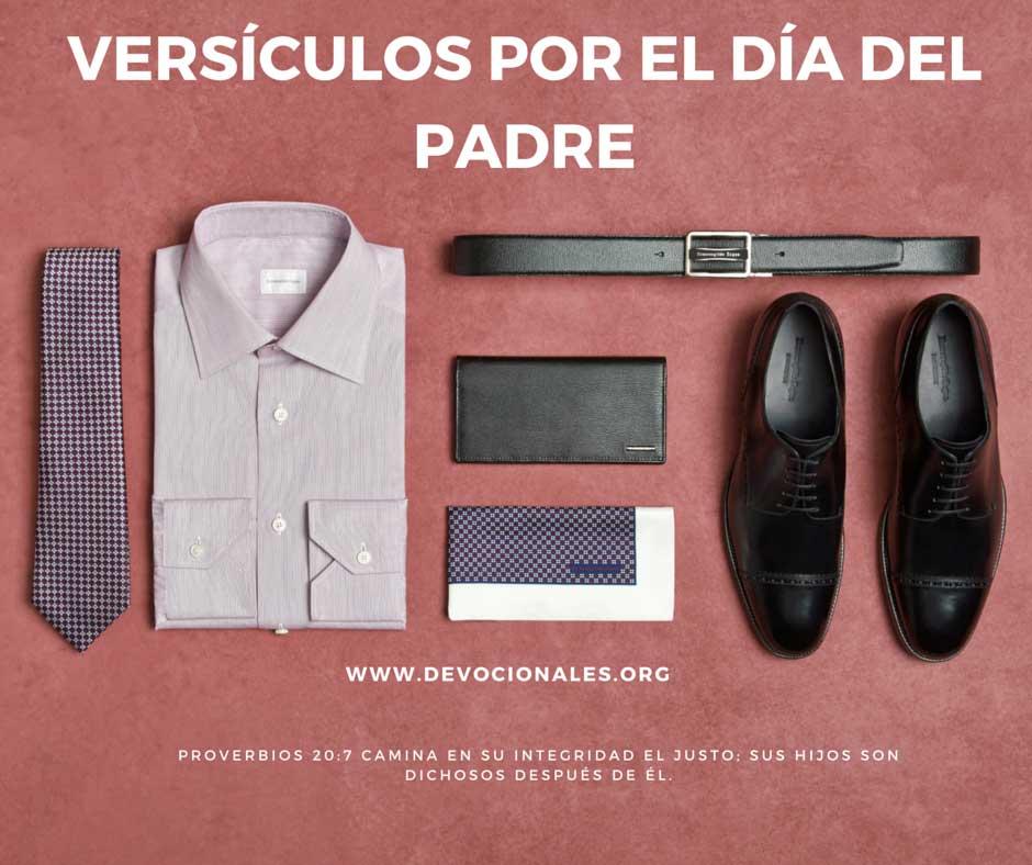 Versículos Bíblicos Por El Día del Padre