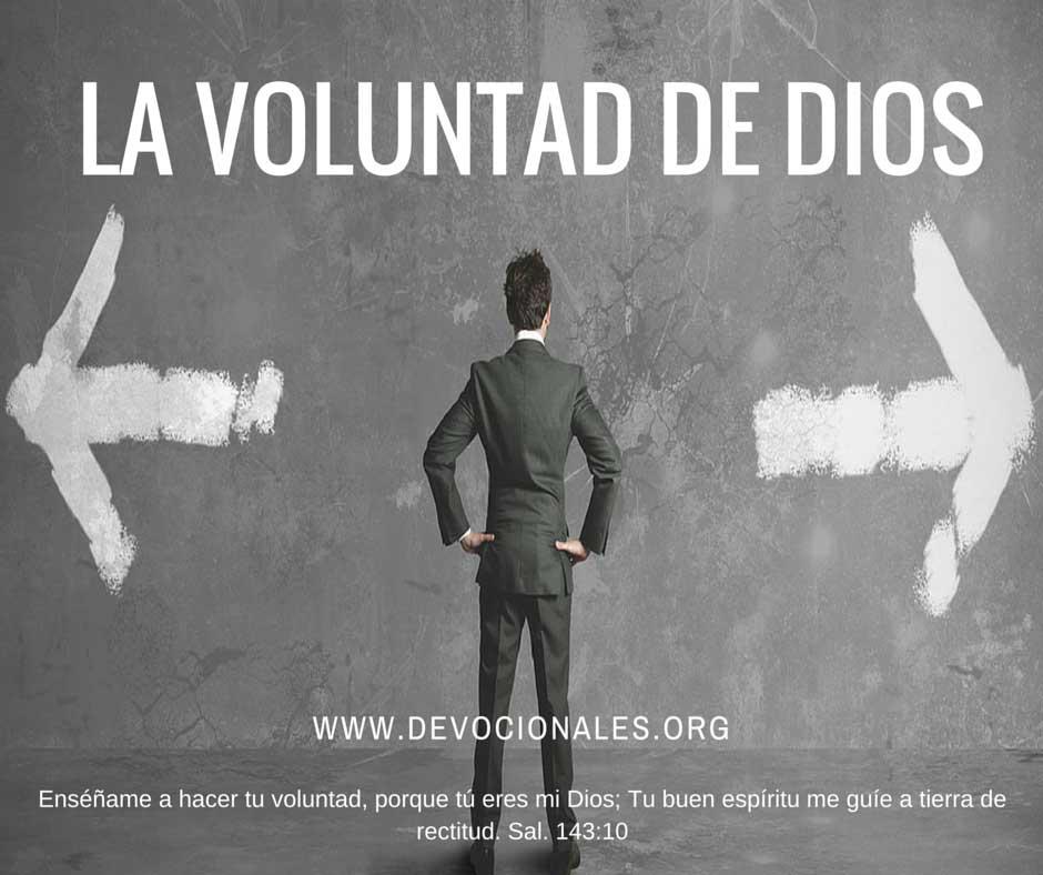 La Biblia Y La Voluntad de Dios