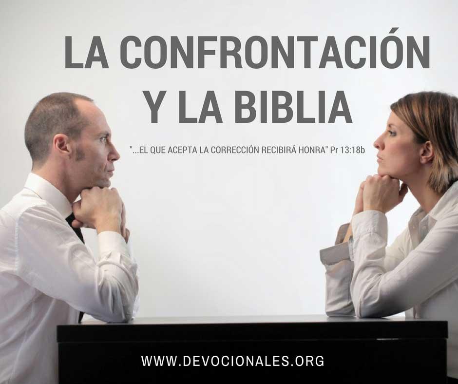 El Confrontar Biblicamente