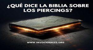 Piercing Y La Biblia