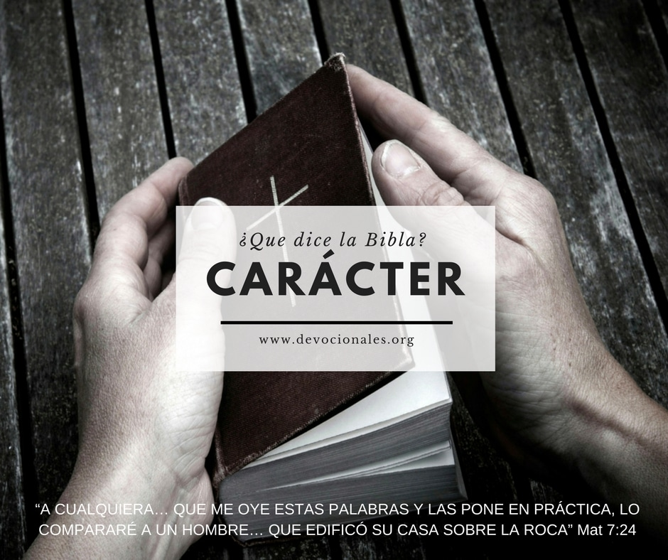 caracter-cristiano-Biblia