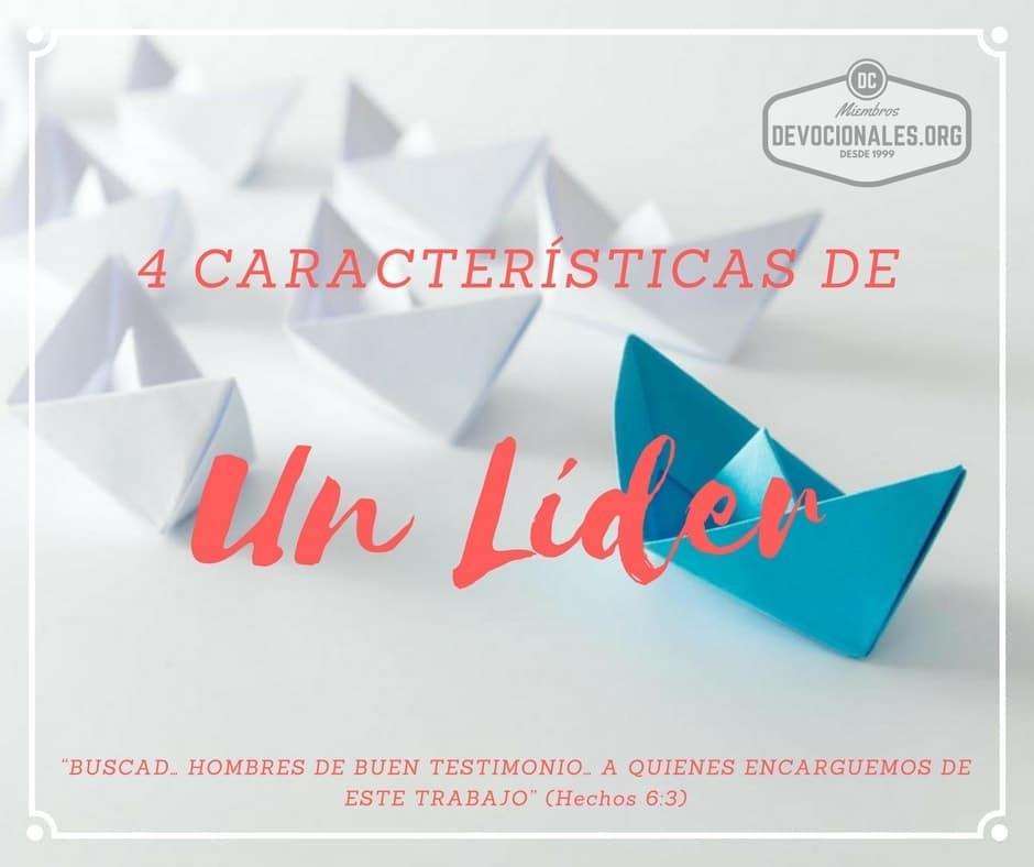Caracteristicas-Líder-Biblia