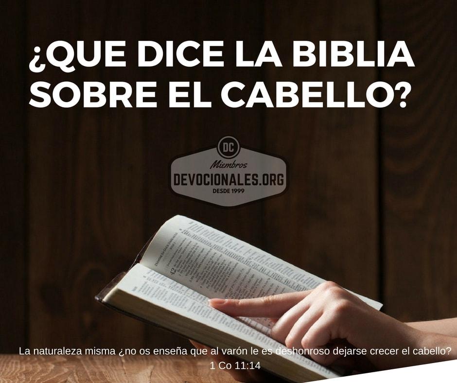 Biblia Sobre El Matrimonio : Que dice la biblia sobre cortarse el cabello † hombre y