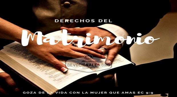 Matrimonio Cristiano Biblia : Derechos y deberes del matrimonio cristiano según la biblia