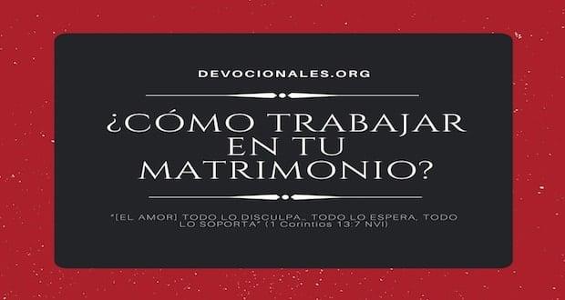 Matrimonio Segun La Biblia Reina Valera : Cómo trabajar en tu matrimonio cristiano según la biblia