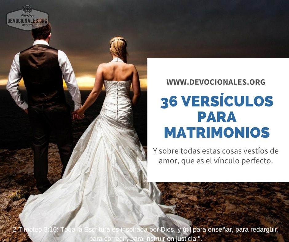 Matrimonio Versiculo Dela Biblia : Versículos bíblicos para animar y fortalecer tu