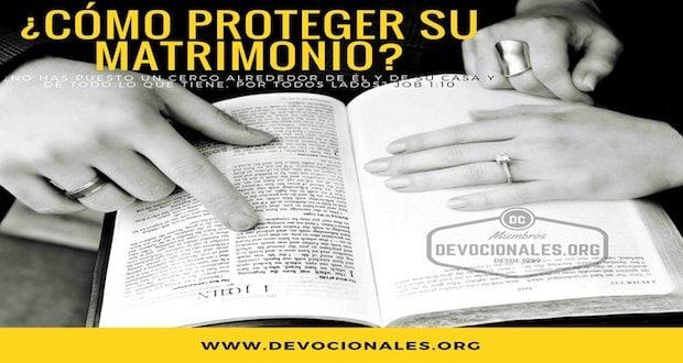 Matrimonio Segun Biblia : Cómo proteger y cuidar su matrimonio según la biblia