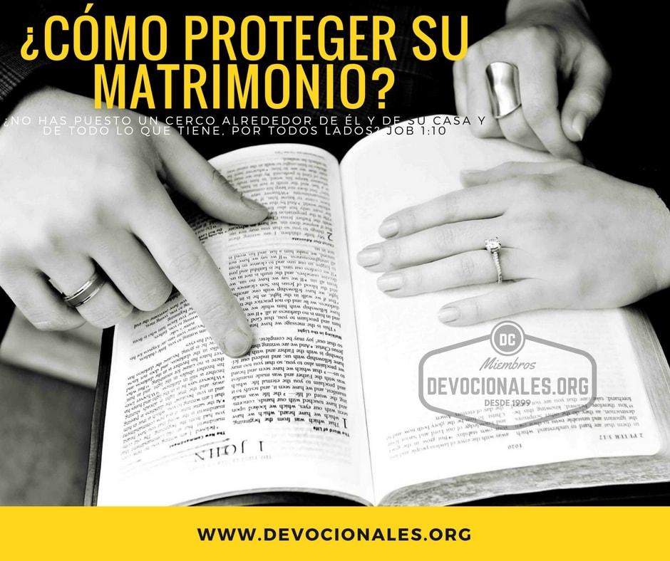 Matrimonio De Acuerdo Ala Biblia : Cómo proteger y cuidar su matrimonio según la biblia