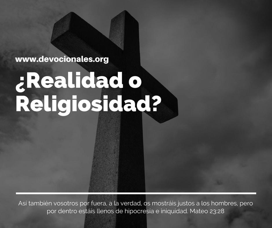 Realidad-Religiosidad