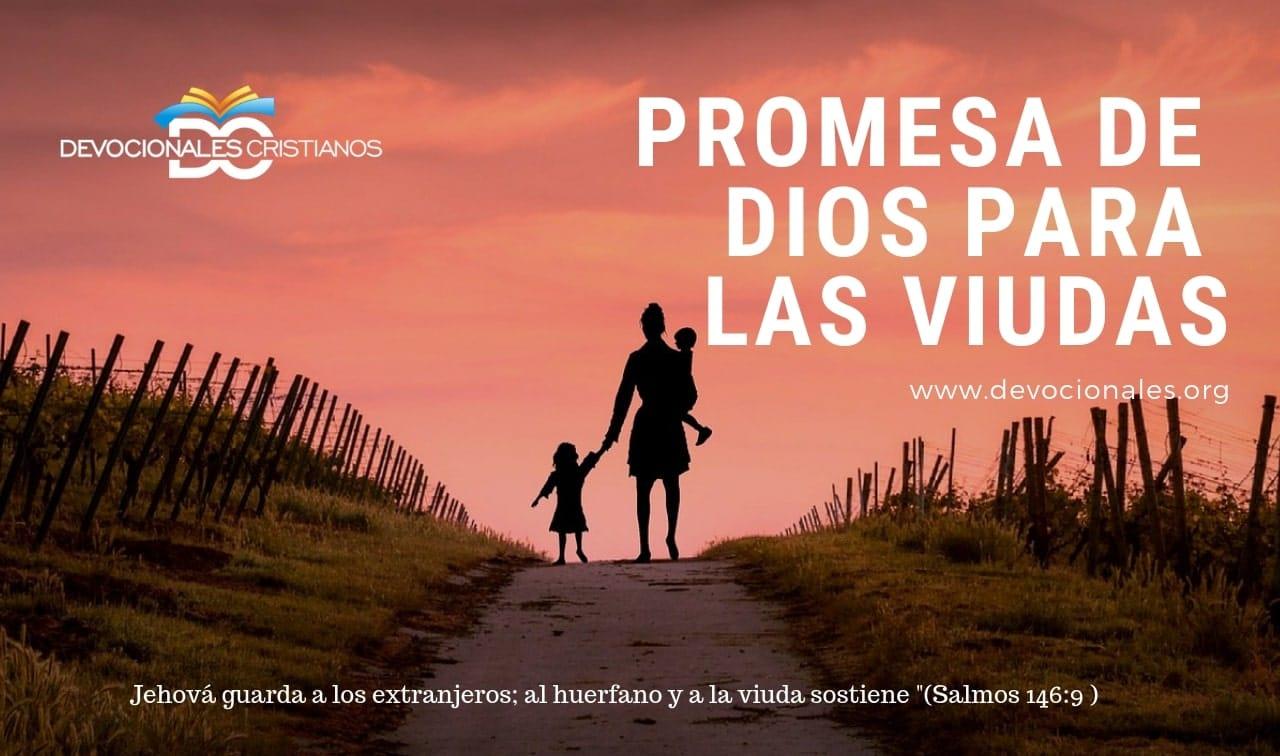 Versiculos Biblicos De Promesas De Dios: Promesa De Dios Para Las Viudas † Devocionales Cristianos