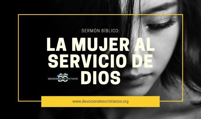 mujer-servicio=Dios-biblia