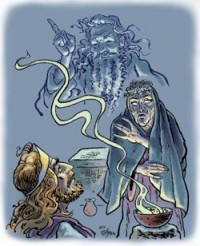 Saul y la Bruja de Endor