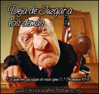 Juez juzgar a los otros