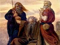 Moises Brazos levantados
