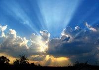El cielo y poder de Dios
