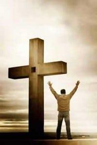 La cruz de Jesus hombre